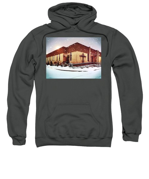 St. Isaac Jogues In The Snow Sweatshirt