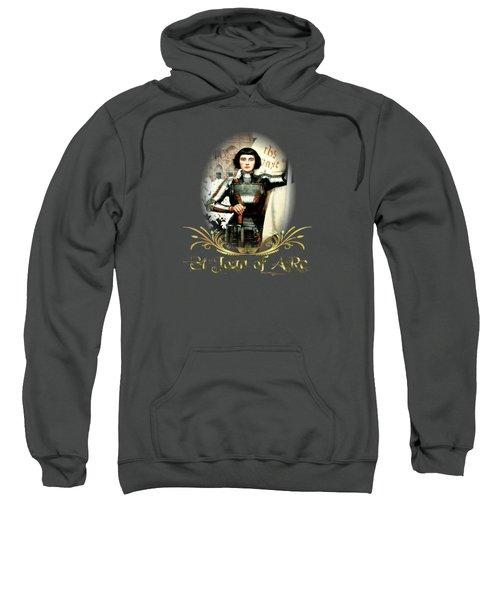 St Joan Of Arc - Jeanne D'arca Sweatshirt