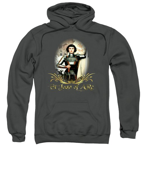 St Joan Of Arc - Jeanne D'arca Sweatshirt