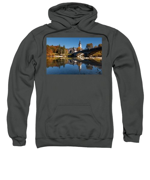 St. John The Baptist On The Lake Bohinj Sweatshirt