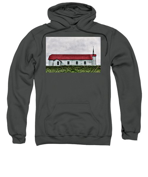 St. Mary Church, Babb, Mt Sweatshirt