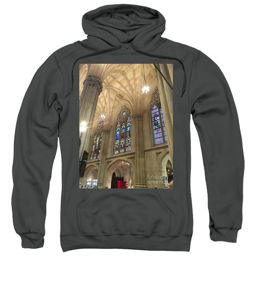St. Patricks Cathedral Interior Sweatshirt