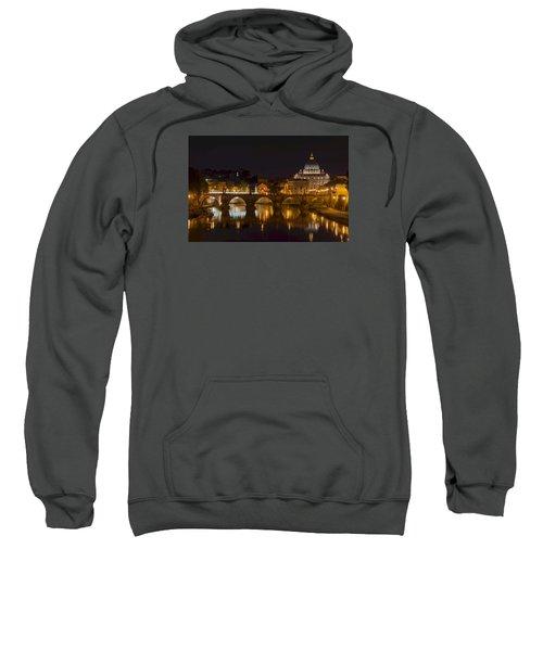 St. Peter's Basilica-655 Sweatshirt by Alex Ursache