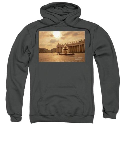 St Peter's Square In Vatican City Sweatshirt