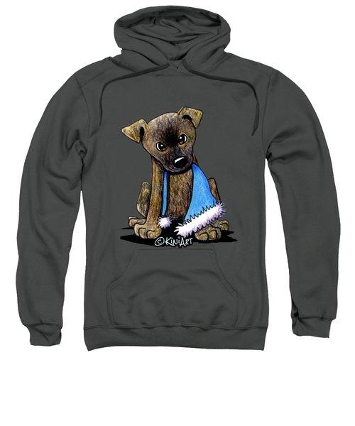 Staffordshire Bull Terrier Brindle Pup Sweatshirt