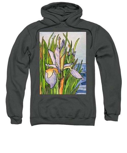 Stained Iris Sweatshirt