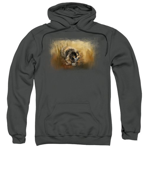 Stalking Autumn Sweatshirt by Jai Johnson