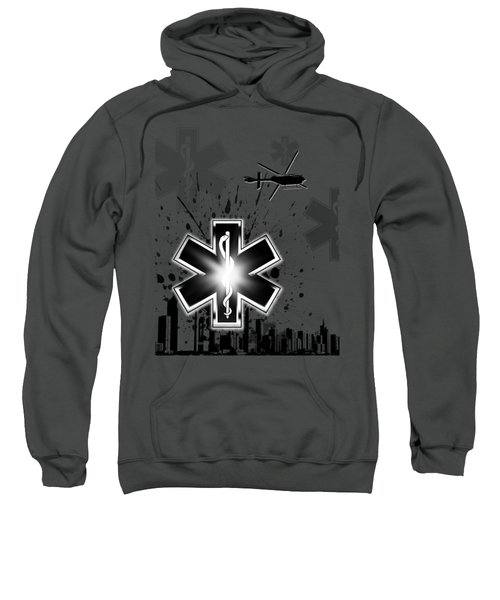 Star Of Life Graphic Sweatshirt by Melissa Smith