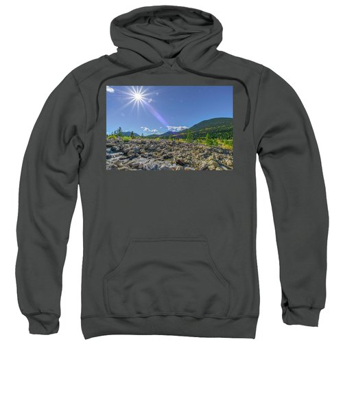 Star Over Creek Bed Rocky Mountain National Park Colorado Sweatshirt