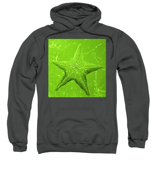 Starfish In Green Sweatshirt
