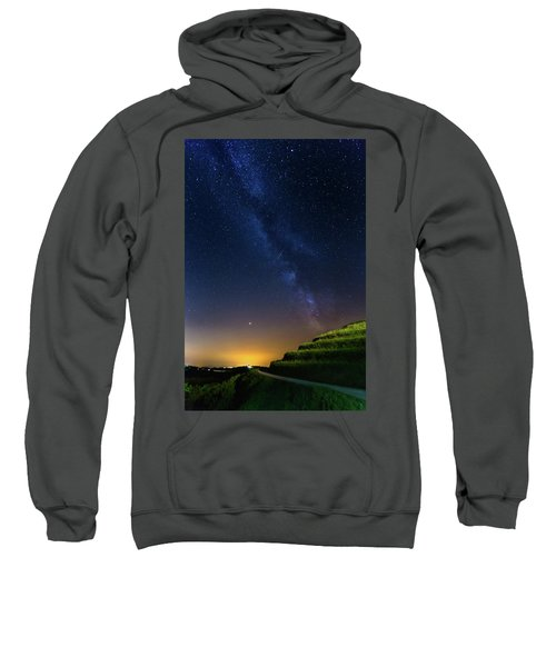Starry Sky Above Me Sweatshirt