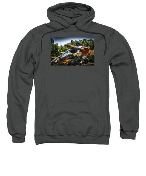 Static And Shiny Sweatshirt