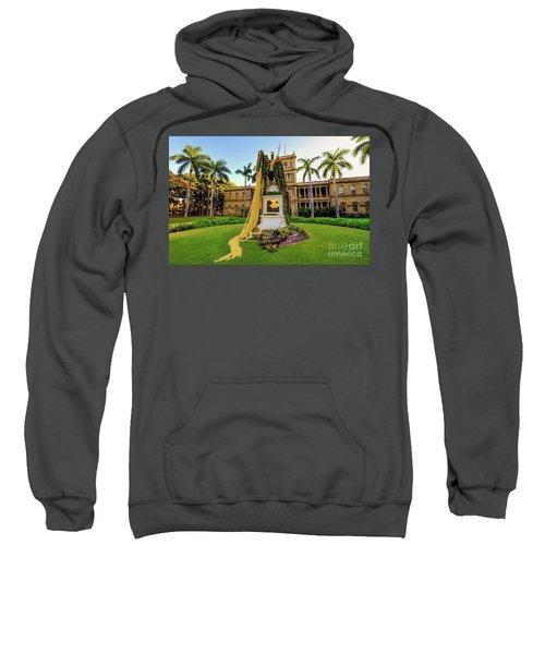 Statue Of, King Kamehameha The Great Sweatshirt