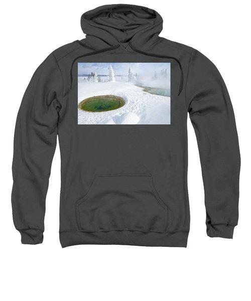 Steam And Snow Sweatshirt