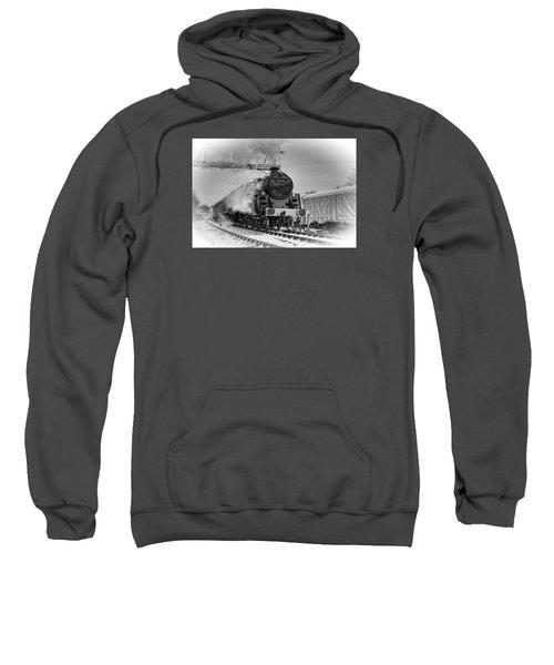 Steam Locomotive 73129 Sweatshirt