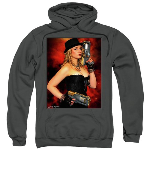 Steam Punk Gun Figther Sweatshirt