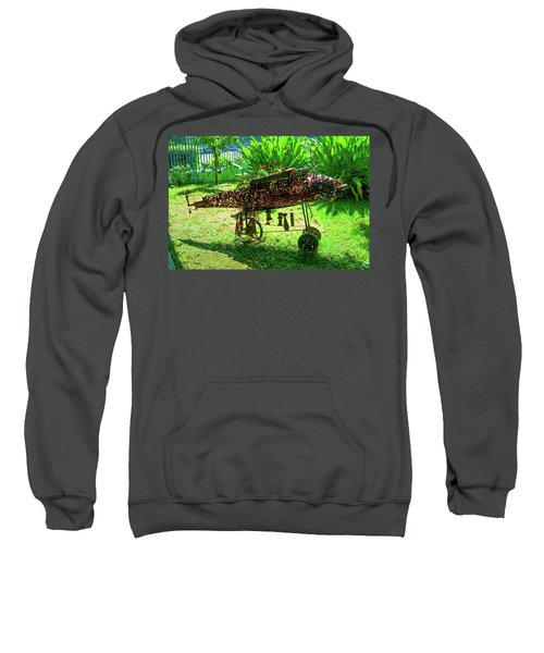 Steampunk From Mozambique Civil War Sweatshirt