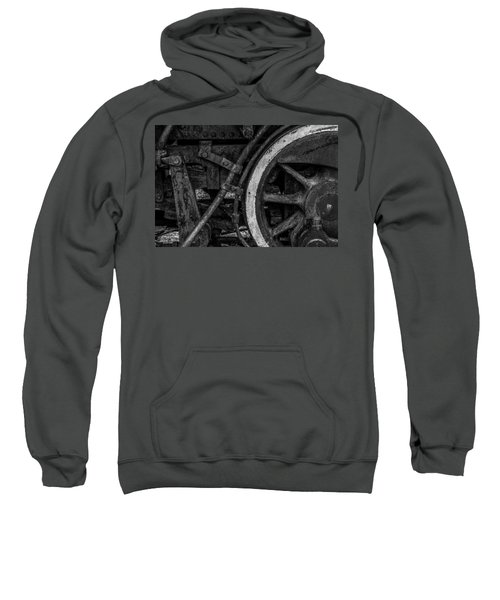 Steel Wheels In Monochrome Sweatshirt