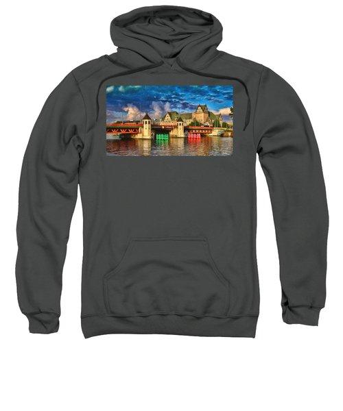 Stettin Bridge - Pol890431 Sweatshirt
