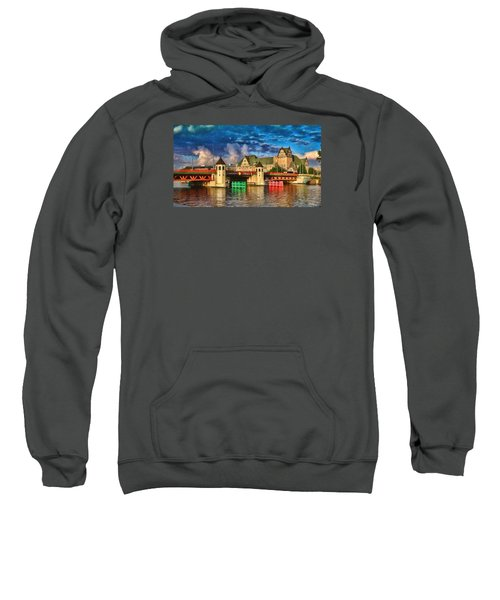 Stettin Bridge - Pol890431 Sweatshirt