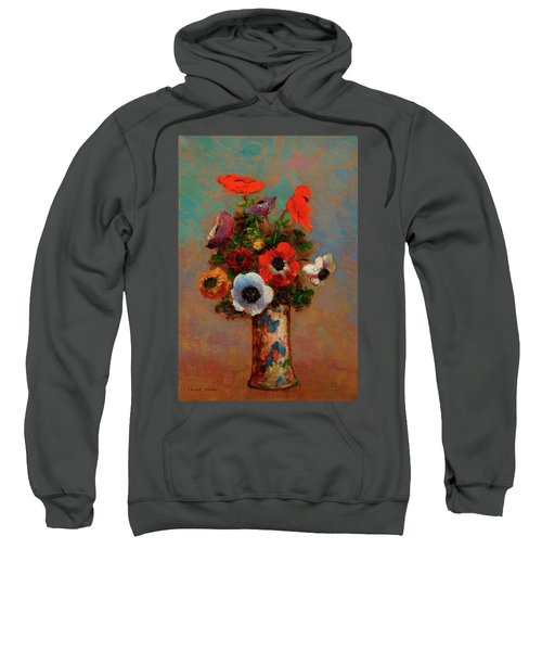 Still Life With Anemones Sweatshirt