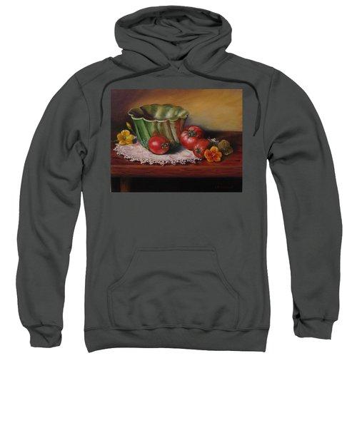 Still Life With Green Bowl Sweatshirt