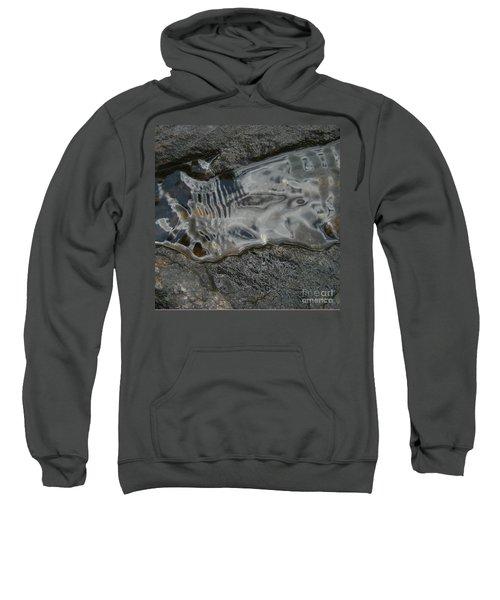 Still Stream Skeleton Screams Sweatshirt