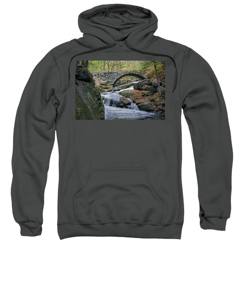 Stone Arch Bridge In Autumn Sweatshirt
