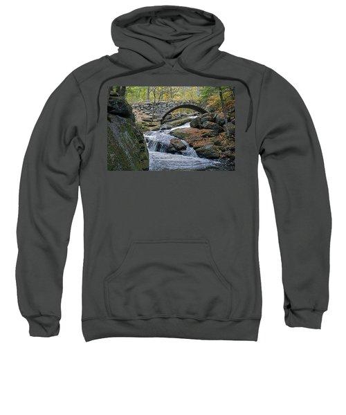 Stone Arch Bridge In Autumn Sweatshirt