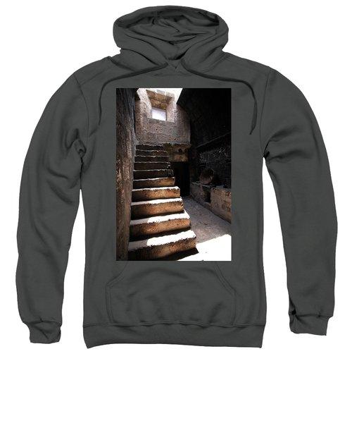 Stone Stairs At Santa Catalina Monastery Sweatshirt