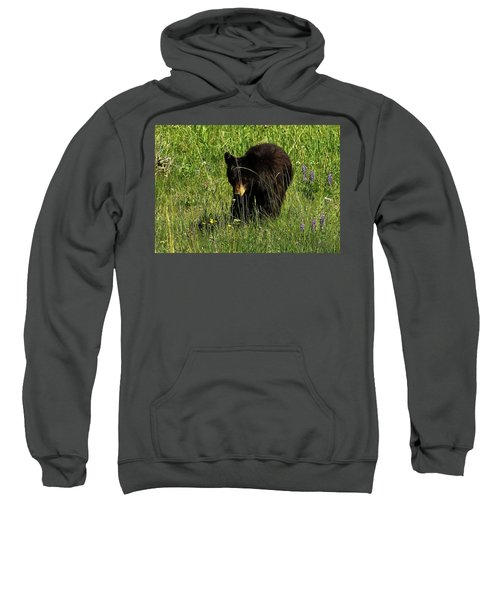Stopping To Smell The Flowers Sweatshirt