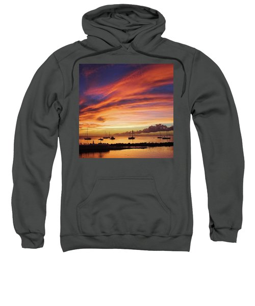 Store Bay, Tobago At Sunset #view Sweatshirt