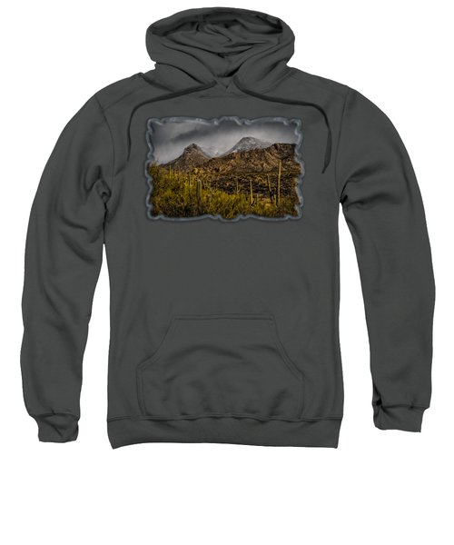 Storm Over Catalinas 15 Sweatshirt by Mark Myhaver