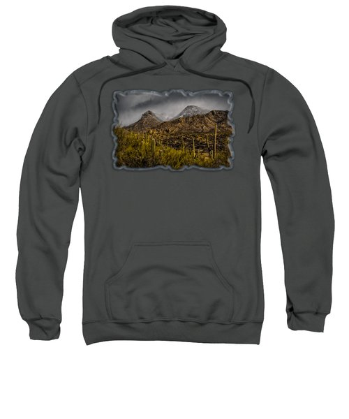 Storm Over Catalinas 15 Sweatshirt