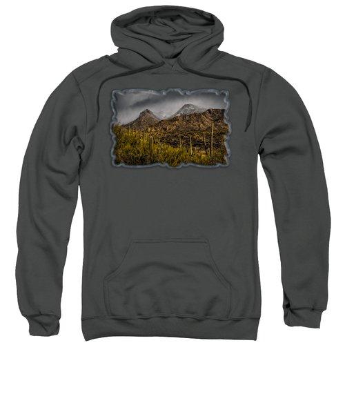 Storm Over Catalinas 15 Sweatshirt