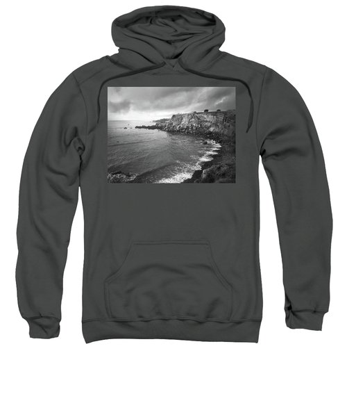 Storm Over The Eastern Shoreline Of Angra Do Heroismo Terceira Sweatshirt