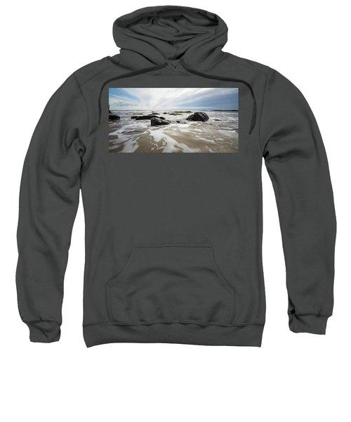 Stormy Maine Morning #3 Sweatshirt