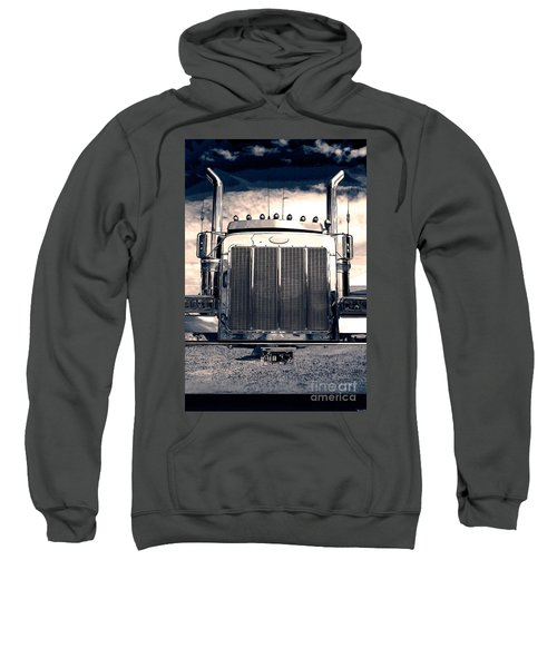 Stormy Night Peterbilt Sweatshirt