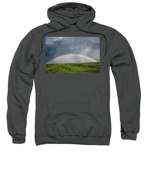 Stormy Rainbow Sweatshirt