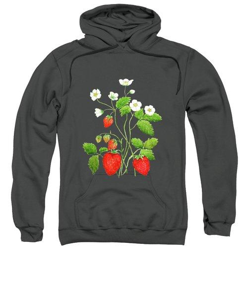 Strawberry  Sweatshirt by Color Color