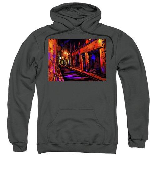 Street In Avignon, France Sweatshirt