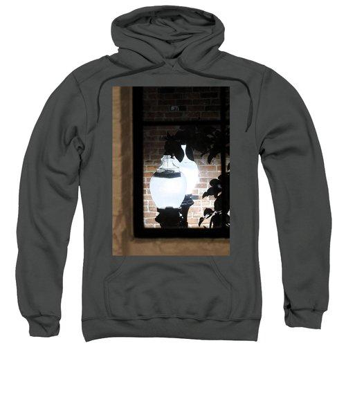 Street Light Through Window Sweatshirt