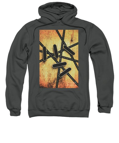 Street Skating Background Sweatshirt