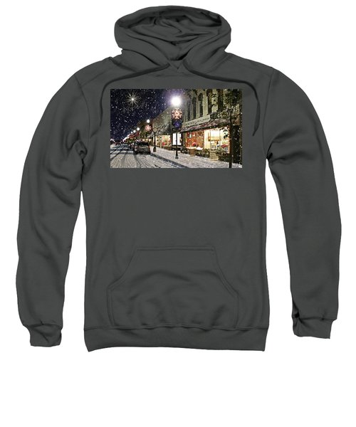 Sturgeon Bay On A Magical Night Sweatshirt