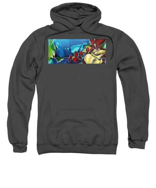 Subsiding Into Me Sweatshirt