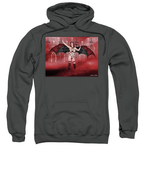 Succubus And Army Sweatshirt