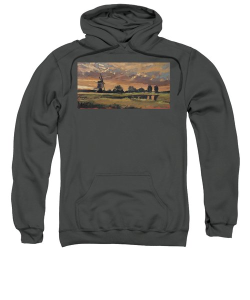 Summer Evening In The Polder Sweatshirt