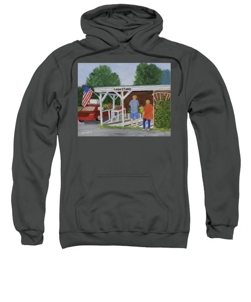 Summer Farm Stand Sweatshirt