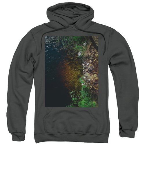 Summer Lake - Aerial Photography Sweatshirt