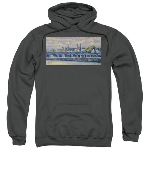 Summer Maas Bridge Maastricht Sweatshirt